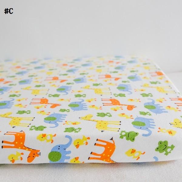嬰兒【精梳棉】床包。嬰兒床單。嬰兒床罩-C小馬與小象