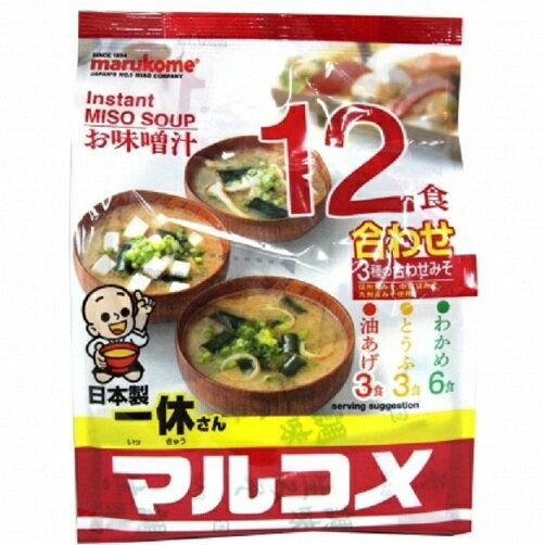 一休12食味增湯-綜合 240g 0