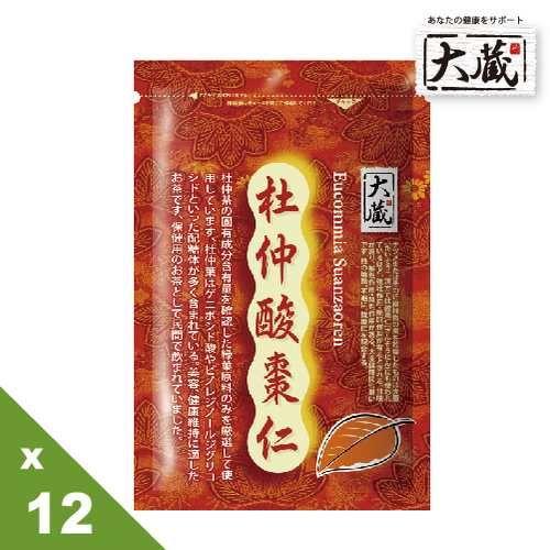 《大藏》杜仲酸棗仁 x 12 天然好眠茶