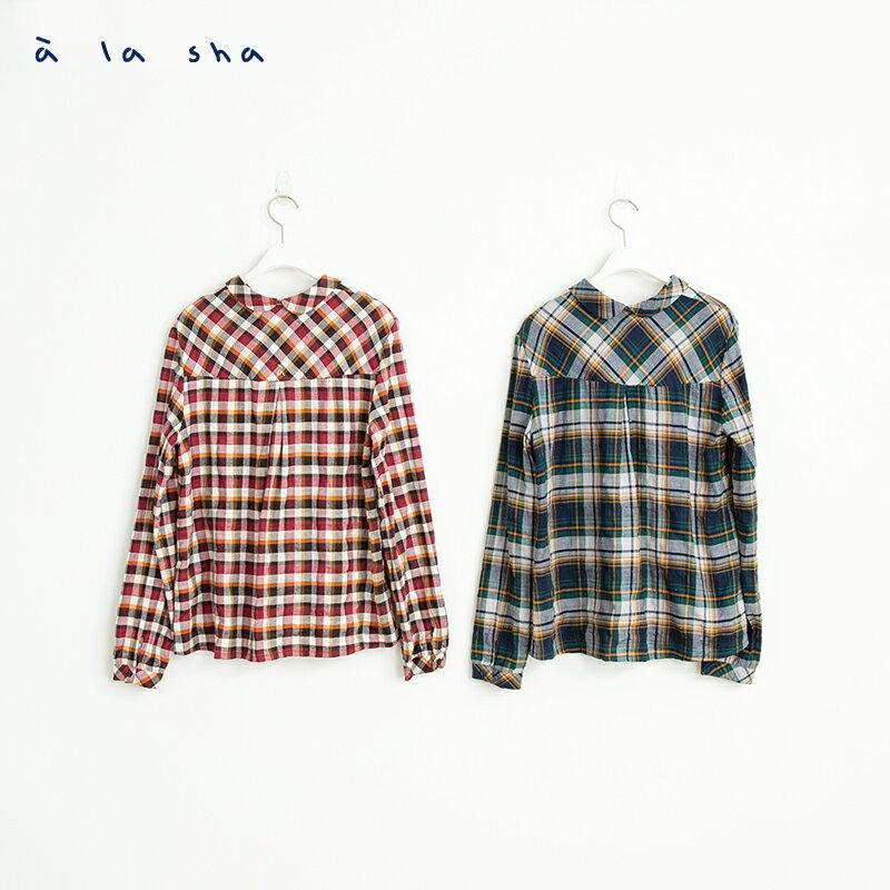 a la sha mucha 小口袋造型襯衫 3