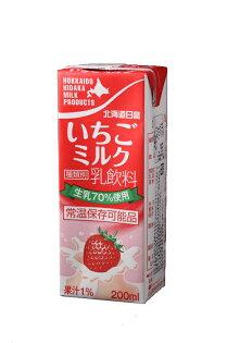北海道 日高草莓牛奶 200ml