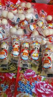 有樂町進口食品 賀新年糖果 軟糖 財神爺果維軟糖300g 財神到  過好年 乳酸菌軟糖