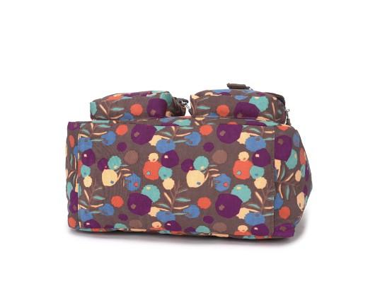 OUTLET代購【KIPLING】手提側背包 旅行袋 斜揹包 潑墨棕 2