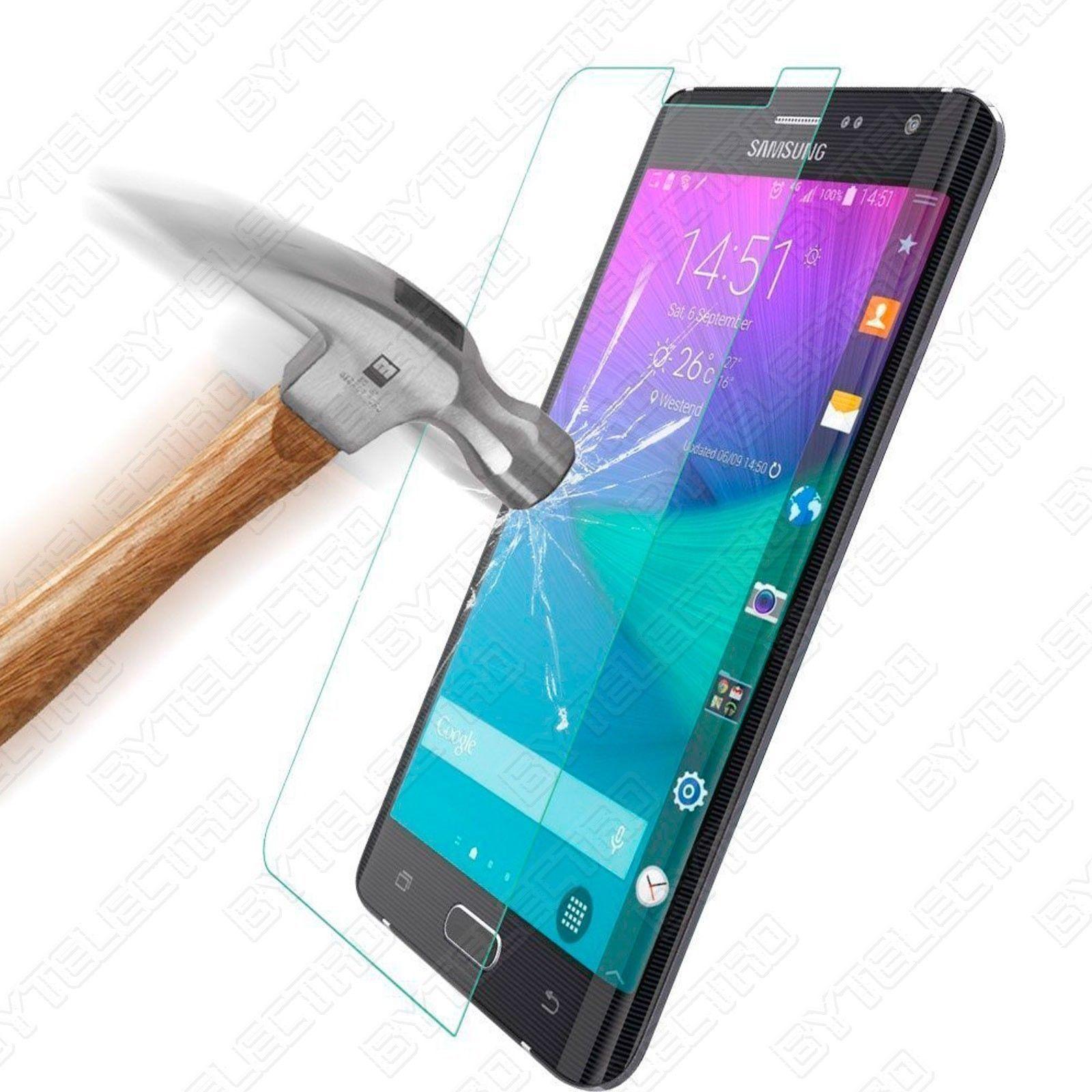 Protector Pantalla CRISTAL TEMPLADO PREMIUM Para Samsung GALAXY NOTE EDGE 0