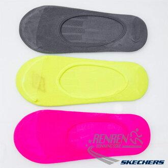 SKECHERS 女 運動隱形襪 (桃紅*黃*灰3雙入) 排汗吸溼 足跟防滑 運動襪子 22-26.5CM