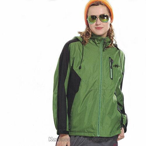 【日本Kawasaki】男女休閒功能性二件式鋪棉外套(深綠)#K256A1 - 限時優惠好康折扣