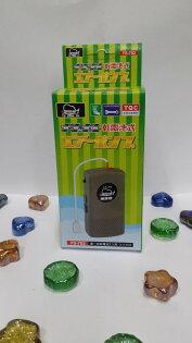 【洁好水族寵物世界】魚師傅 單孔乾電池幫浦/打氣機 ★1號電池*2個*簡易輕便,可外攜釣魚用。