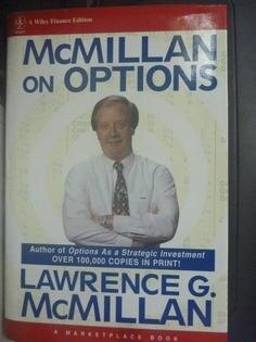 【書寶二手書T1/投資_XBO】McMillan on Options_Lawrence G. McMillan