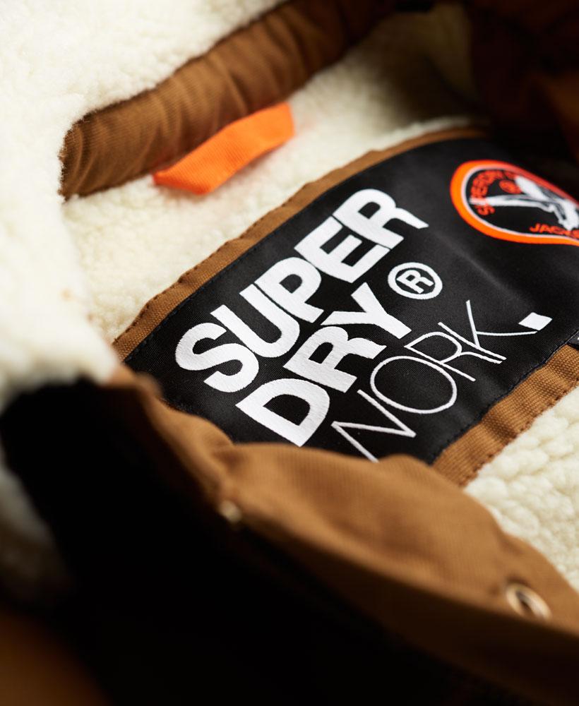 [男款] 英國代購 極度乾燥 Superdry Redford 男士風衣戶外休閒外套夾克 防水 防風 保暖 棕褐色 3
