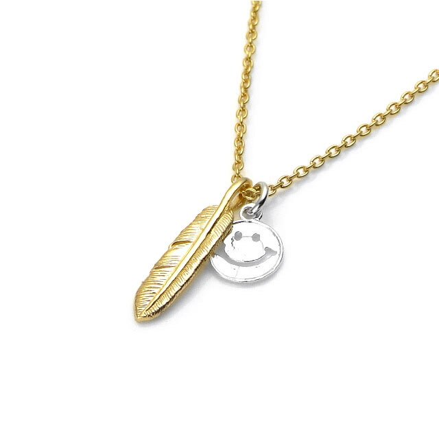 【現貨商品】【amp japan】小羽毛與微笑純銀項鍊(AMP-14AH-146  0784240000) 0