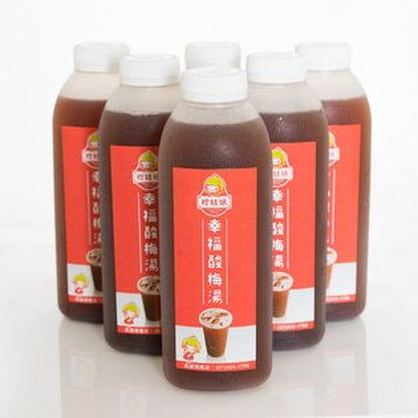 橙姑娘-招牌幸福酸梅湯(6瓶裝)