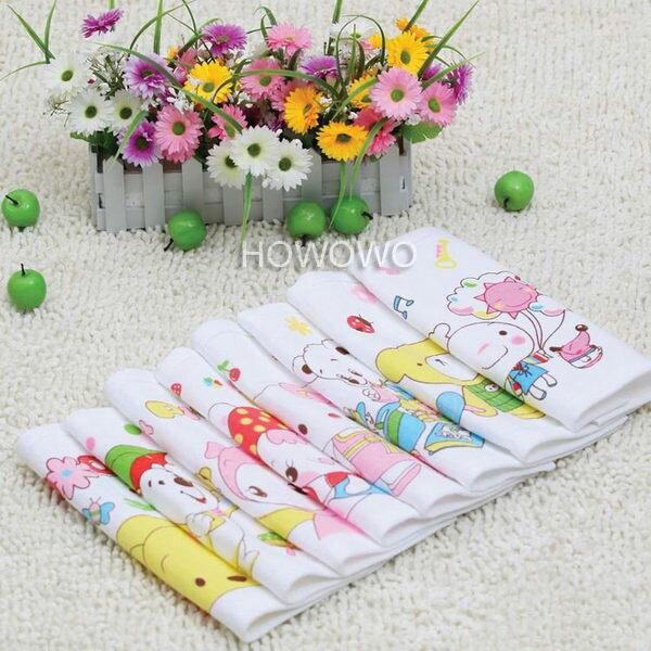 紗布童巾 嬰兒蜂巢紗布洗臉巾(3條入) RA1532