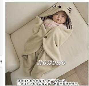 嬰兒包巾小魔怪多功能外出抱毯包巾 SS0104