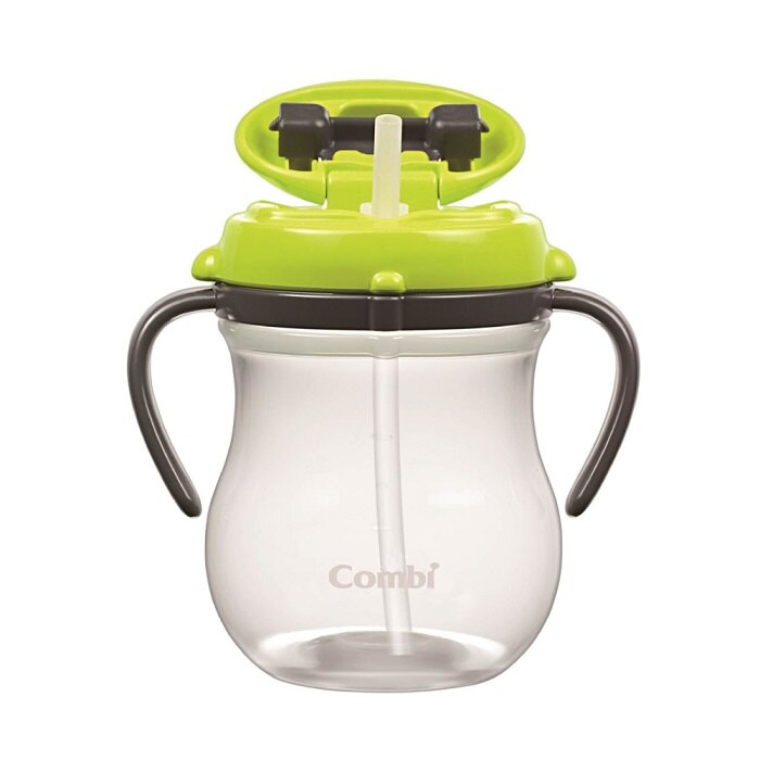 日本【Combi 康貝】teteo 吸管葫蘆喝水訓練杯 300ML - 限時優惠好康折扣