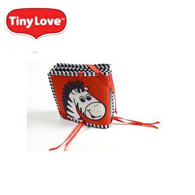 【安琪兒】美國【Tiny Love】寶寶雙面布書 1