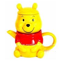 小熊維尼周邊商品推薦日本原裝DISNEY TEA FOR ONE小熊維尼造型杯茶壺組