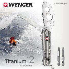 ~鄉野情戶外用品店~ Wenger ^|瑞士^| Titanium 2/Ueli Stec
