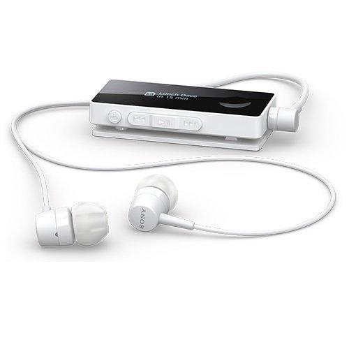 *╯新風尚潮流╭* SONY SBH-50 OLED 智能 藍牙耳機 無線藍芽耳麥 支援 NFC 白 SBH50-W