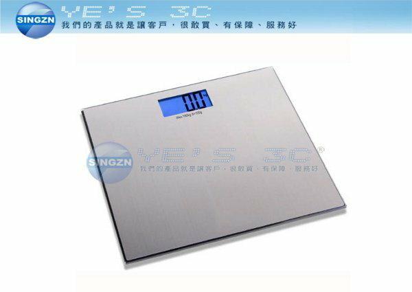 「YEs 3C 」TECO 東元藍光數位體重計 XYFWT482 銀 超薄型  yes3c