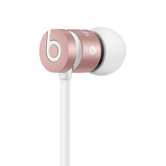 ~育誠科技~~ Beats urBeats 玫瑰金色~耳塞式耳機 耳道式 Dolby音效