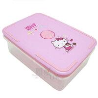 野餐盒不可缺單品< 唯愛日本>12072600004 中方行保鮮盒-甜甜圈 三麗鷗 Hello Kitty 凱蒂貓 蔬菜盒 野餐盒