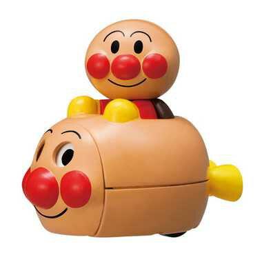 【唯愛日本】 14122600009 迴力跑跑車-AP車車 Anpanman 麵包超人 玩具車 玩具