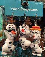 【唯愛日本】15020100071 3入DN娃鎖圈別針-雪寶 迪士尼 冰雪奇緣 Frozen 娃娃 玩偶 正品 限量