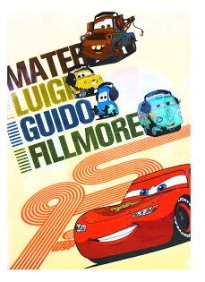 【唯愛日本】15021400023 A4文件夾-CARS1黃 迪士尼 Cars 汽車總動員 閃電麥坤 文具 正品 限量