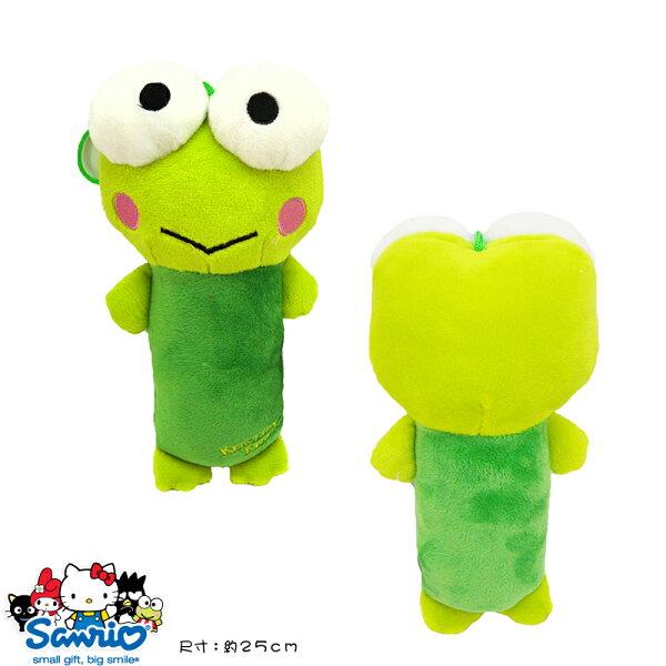 【真愛日本】15032300003 4號全身長抱枕-大眼娃 三麗鷗家族  Keroppi 大眼蛙 皮皮蛙 娃娃 玩偶 靠枕 午安枕 正品 限量