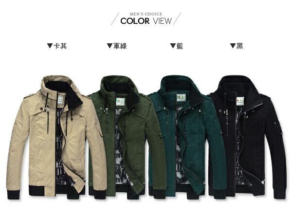 ☆BOY-2☆ 【NZMY1216】美式夾克軍裝外套 1