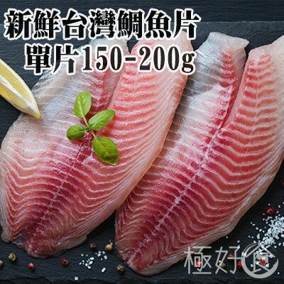 極好食❄新鮮台灣鯛魚片-單片150G-200G