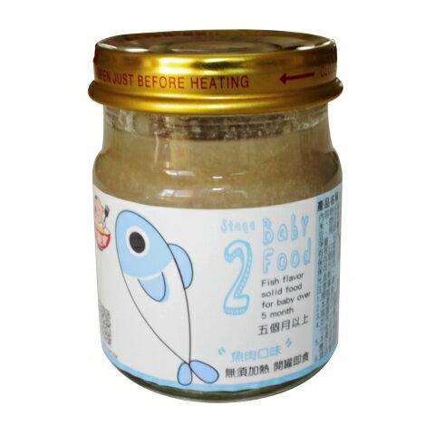 吃飽寶 - 魚肉口味 80g (第二階段5m+)  在地生產優質副食品! 0