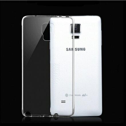Aguchi Samsung 三星 Galaxy Note4 超薄 TPU 透明軟式手機殼/保護套 0