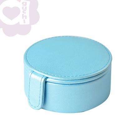【Aguchi 亞古奇】法式馬卡龍-晴空藍 珠寶盒(玩美精靈系列) 0