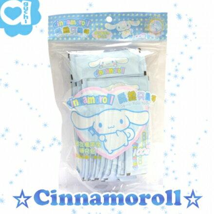 ☆ Cinnamoroll ☆ 大耳狗 單支包攜帶型扁線牙線棒 (100入補充包) 0