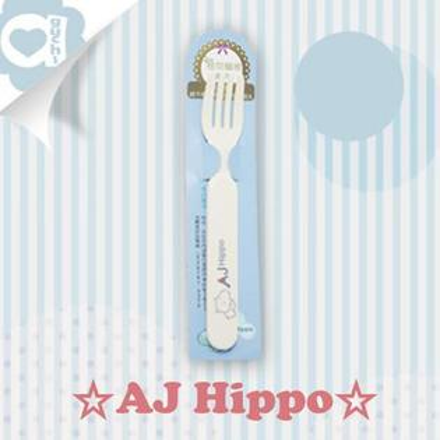 ☆ AJ Hippo ☆ 小河馬 植物纖維兒童叉子【亞古奇 Aguchi】