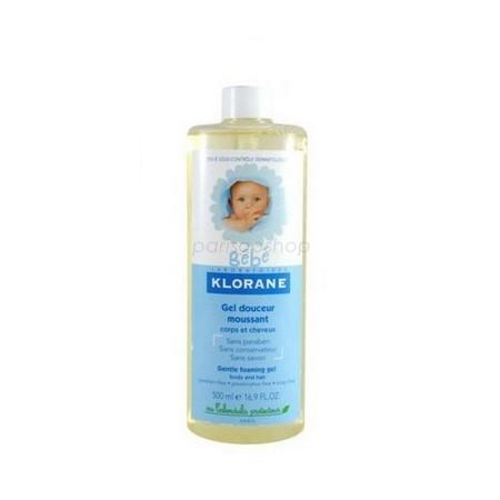 Klorane 蔻蘿蘭寶寶洗髮沐浴精 500 ML 補充瓶【巴黎好購】 - 限時優惠好康折扣