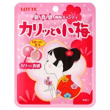 有樂町進口食品 日本進口 Lotte 樂天新食感小梅糖 27g J40 4903333190430
