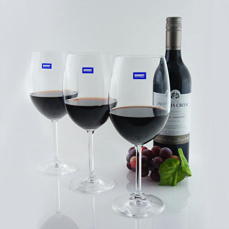 【曉風】水晶紅酒杯6入裝《Banquet Crystal 波爾多水晶紅酒杯*葡萄酒杯 580ml 》 0