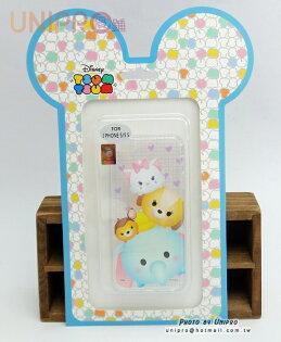 【UNIPRO】迪士尼 iPhone 5 5S Tsum Tsum 疊疊樂 小飛象 瑪麗貓 斑比 TPU 手機殼 i5