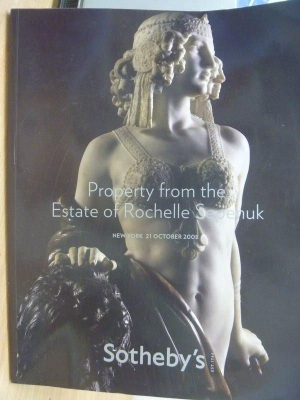 ~書寶 書T2/收藏_YIK~Sothebys_NEW YORK_PROPERTY FRO