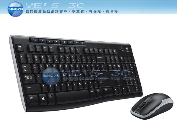 「YEs 3C」全新 Logitech 羅技 MK270r 無線 鍵盤 滑鼠組 2.4 GHz 超小型接收器