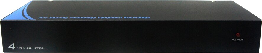 AviewS-4 PORT螢幕分配器/外型金屬材質/PSTEK VP-104 0
