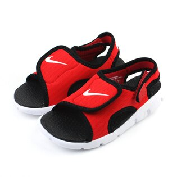 NIKE 涼鞋 童鞋 紅色 小童 no392