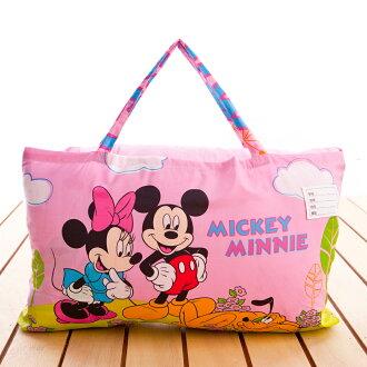 【名流寢飾家居館】約會米奇米妮.標準型兒童睡袋.全程臺灣製造