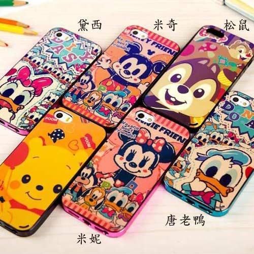 【賣萌3C】 iphone6 6plus 5/5S Note3 Note2 S5迪士尼卡通藍光手機殼保護套
