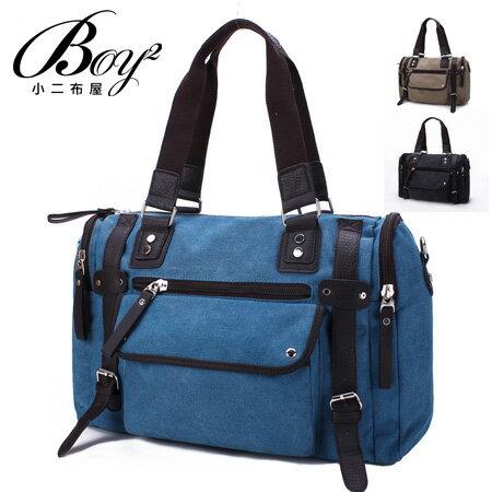 ☆BOY-2☆【NQA5057】側背包素面質感簡約手提圓筒包 0