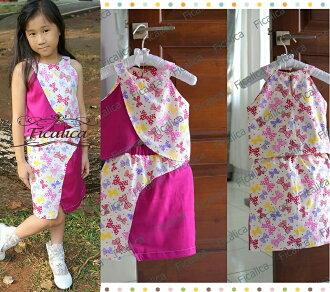 Super Deal Rakuten Belanja Online - Sleeveless ribbon hotpink dress