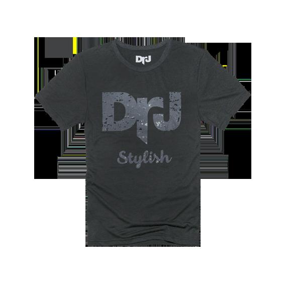 DrJ 個性造型短T 深灰色 (男/女款皆有)