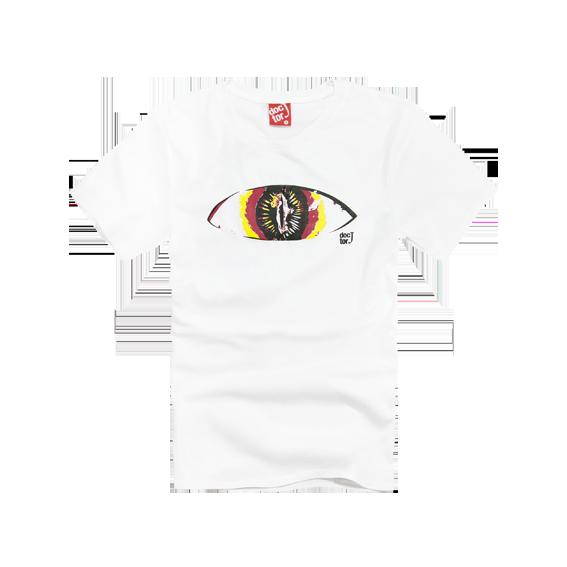 DoctorJ 瞳孔 個性造型短T (男款)